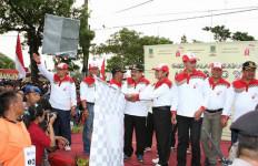 Gerak Jalan Perjuangan Mojokerto-Surabaya Dilepas - JPNN.com