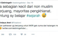Sebut Mayoritas Nonmuslim Pengkhianat, Akun @estiningsihdwi Dipolisikan - JPNN.com