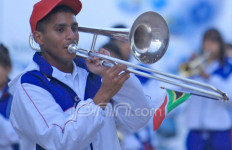 Bandara Sewa Marching Band - JPNN.com