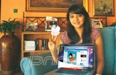 Marsha Chikita, Putri Ikang Fawzi yang Jadi Animator Film Upin-Ipin - JPNN.com