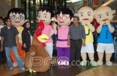 Heboh, Upin Ipin Hadir di Mal Jakarta - JPNN.com
