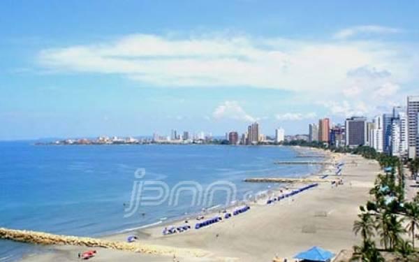 Cartagena, Kota di Kolombia Tempat Persembunyian Nazaruddin - JPNN.com
