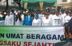 Kampanyekan Kerukunan dengan Gerak Jalan - JPNN.com