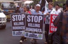 Demi Muslim Rohingnya, Garda Bangsa Sambangi Kedubes Myanmar - JPNN.com