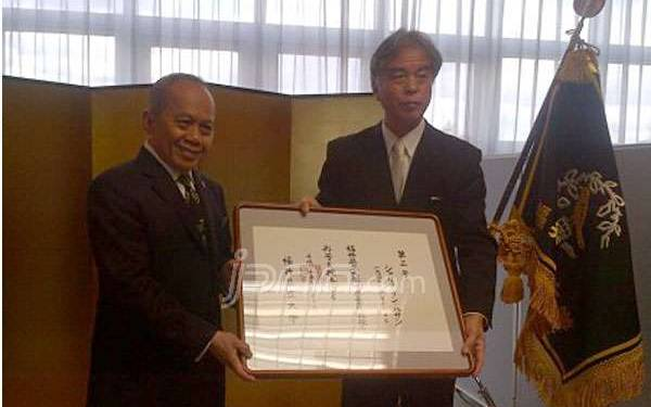 Menkop Terima Kaukuin Kyoju - JPNN.com