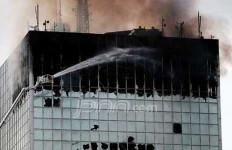 Wisma Kosgoro Hangus, Terbakar atau Dibakar? - JPNN.com