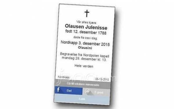 Walah..Lihat nih, Ada Iklan Kematian Sinterklas - JPNN.com