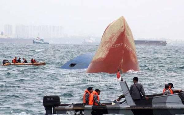 Enam ABK MV Thorco Cloud yang Tenggelam Belum Ditemukan - JPNN.com