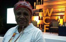Inilah Pidato Lengkap Mama Aleta yang Menggetarkan Forum Kebudayaan Sedunia - JPNN.com