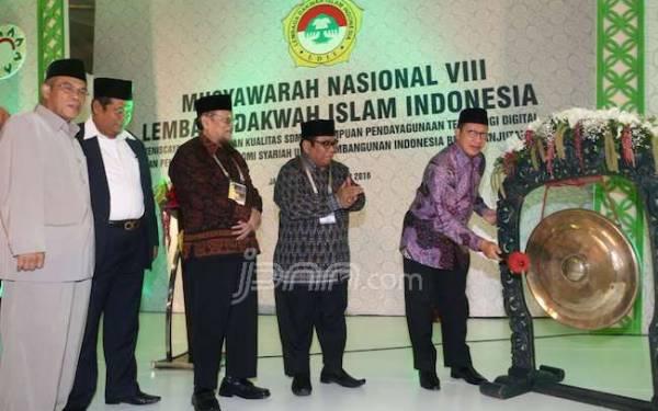 Buka Munas LDII, Menag Dorong Gerakan Hormati Guru - JPNN.com