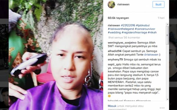 Berjuang Sembuh dari Kanker, Ria Irawan: Jangan Berkata Kasar Sama Saya - JPNN.com