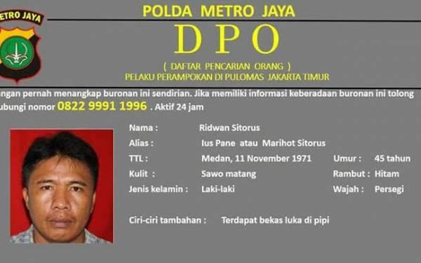 Dicari!!! Buronan Pelaku Penyekapan Keluarga Dodi - JPNN.com