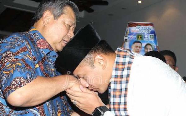 AHY dan SBY Jangan Buru-Buru Pesta, Minta Maaf Dulu kepada Presiden Jokowi - JPNN.com