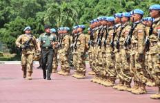 Kabar Duka, Seorang Prajurit TNI Tewas dalam Serangan oleh Milisi Kongo - JPNN.com