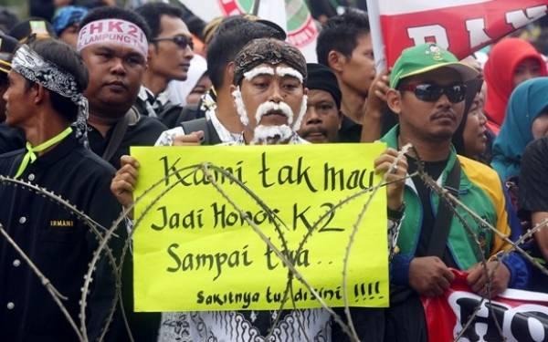 Terungkap Penyebab Nasib Honorer K2 Lulus PPPK Masih tak Jelas - JPNN.com