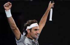 Susah Payah Kalahkan Nadal, Federer Catat 18 Grand Slam - JPNN.com
