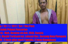 Pencuri 4 Gitar Ditangkap Saat Nyanyi dan Minum Teh - JPNN.com