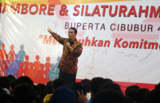 Tebar Optimisme Kejayaan Indonesia di Jambore Mahasiswa - JPNN.com