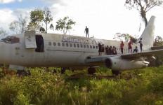 Pesawat di Hutan Papua jadi Lokasi Wisata Dadakan - JPNN.com