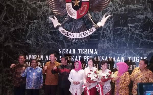 Serah Terima Jabatan, Soni Jamin Titipan Ahok Aman - JPNN.com