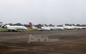 Dijaga TNI/Polri, 3 Pesawat Berhasil Landing di Bandara Wamena - JPNN.com