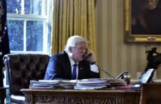 Kim Jong Un Melunak, Trump Ogah Cabut Sanksi - JPNN.com