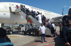 Raja Salman Tinggalkan Bali, Penerbangan Delay 45 Menit - JPNN.com