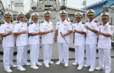 Kolonel Haris Pimpin Sertijab Komandan 5 Kapal Patroli - JPNN.com