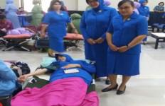 Jalasenastri AAL Melaksanakan Donor Darah - JPNN.com
