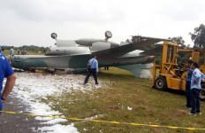 Jet Tempur Tergelincir di Pekanbaru Sudah Dievakuasi - JPNN.com