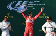 Wow! Vettel Finis Pertama di GP Australia - JPNN.com