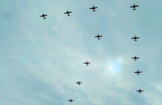 132 Pesawat dan 1600 Personel Terlibat dalam HUT TNI AU - JPNN.com