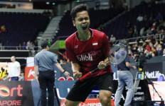 Ranking Terbaru BWF Tunggal Putra: Ginting 11, Jojo 14 - JPNN.com