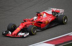 Vettel Paling Cepat di Latihan Pertama GP Bahrain, Hamilton ke-10 - JPNN.com