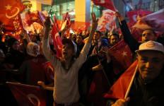 Hasil Resmi Belum Keluar, Erdogan Sudah Sampaikan Pidato Kemenangan - JPNN.com