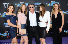 Kecantikan Tiga Putri Rambo Curi Perhatian di Premier GoTG 2 - JPNN.com