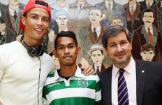 Nah Lho, Anak Angkat Cristiano Ronaldo Mendaftar Bintara Polri - JPNN.com