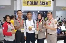Ikut Tes Bintara, Anak Angkat Ronaldo Jadi Rebutan Polwan - JPNN.com