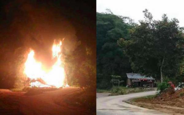Dua Desa Bentrok, Satu Rumah Terbakar, Puluhan Orang Diamankan Polisi - JPNN.com