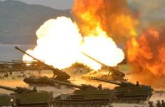 Lihat! Latihan Militer Terbesar dalam Sejarah Korea Utara - JPNN.com
