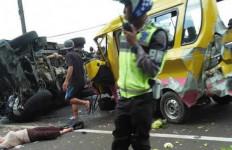 Kecelakaan Maut Beruntun Potret Kegagalan Road to Zero Accident - JPNN.com