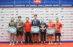 Usakti Borong Gelar Perorangan LIMA Badminton GJC - JPNN.com