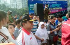Candaan Prabowo buat Eko yang Berjalan dari Madiun ke Jakarta - JPNN.com