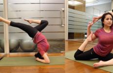 Gerakan Yoga Nagita Slavina Menuai Pujian - JPNN.com
