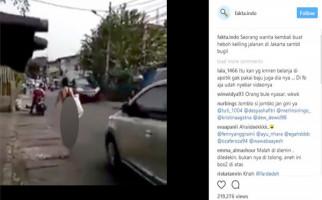 Inilah Kabar Terkini Wanita Pakai G-string di Tamansari - JPNN.com