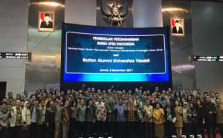 Pengurus IKA USAKTI Dilantik di Gedung Bursa Efek Indonesia - JPNN.com