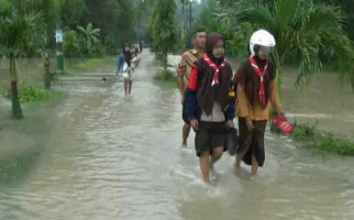 Hujan Deras Sungai Meluap, 9 Desa Teredam Banjir - JPNN.com