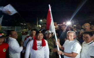 Jago PKS-Gerindra Menang Pilkada, Relawan Jalan Kaki 29 Jam - JPNN.com