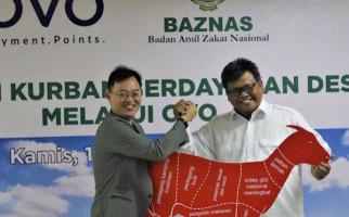 BAZNAS - OVO Beri Kemudahan dalam Membeli Hewan Kurban - JPNN.com