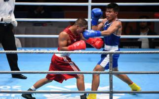 Sunan Agung ke Perempat Final Tinju Asian Games 2018 - JPNN.com